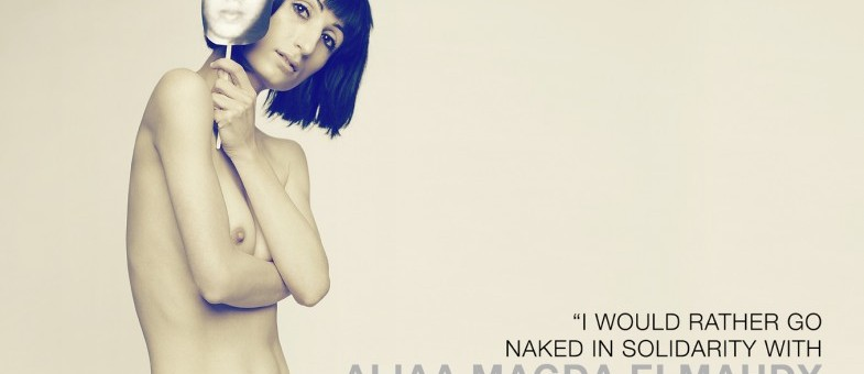 I would rather be naked than silent…