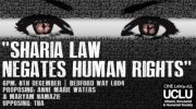 Sharia law negates human rights