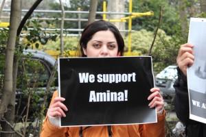 Amina protest007