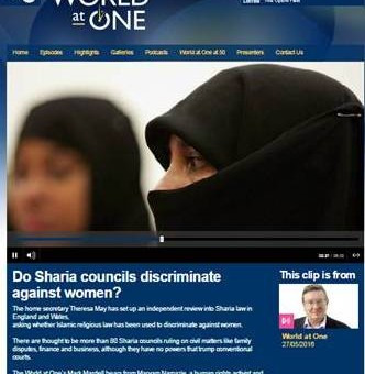 Do sharia courts discriminate against women?