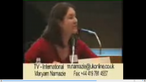 Maryams speech on sharia court in canada march 2004