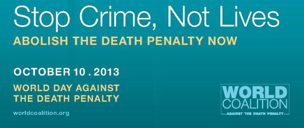 Global day of action against the death penalty