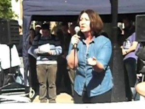 Maryam Namazie at Rally for Secular Europe 2011