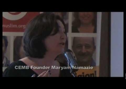 Ex-muslim Shock and Provoke – Maryam Namazie's speech at CEMB anniversary 2012