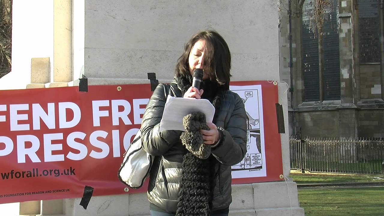 Maryam Namazie on Free Expression