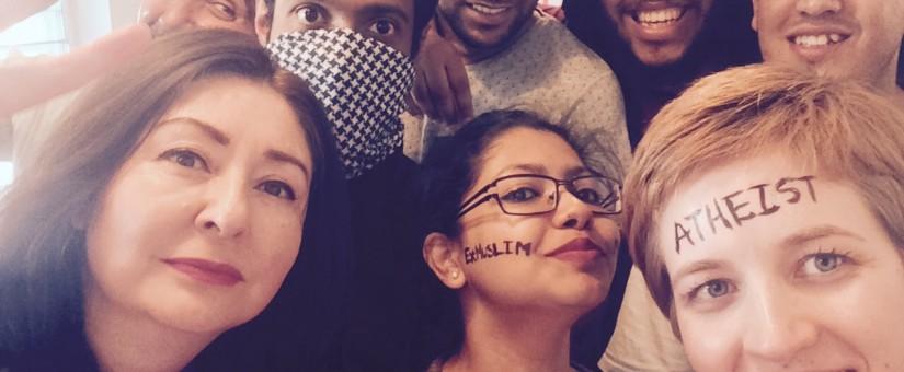 "#ExMuslimBecause #INeedYourLove – Flash ""Dance"" at Kings Cross"