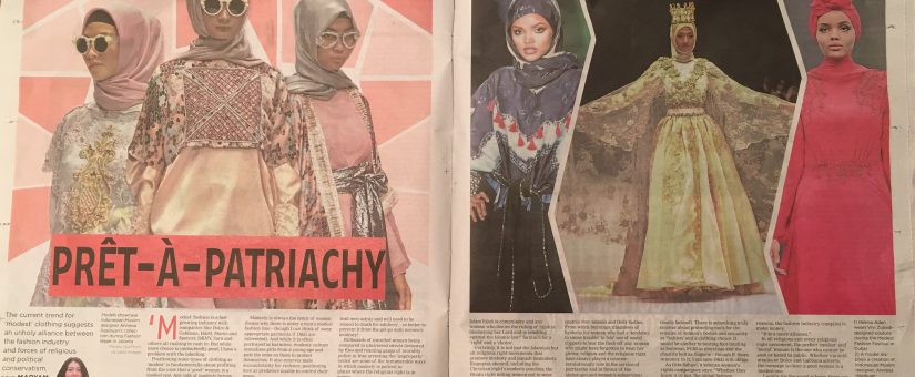 "Pret-A-Patriarchy – on ""modest"" fashion"