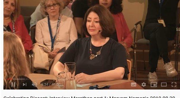 Celebrating Dissent: Interview Marathon part 1: Maryam Namazie