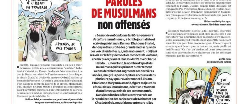 In Support of Charlie Hebdo: We're Not Offended